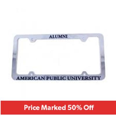 APU - Alumni License Plate