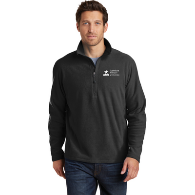 AMU - Eddie Bauer ® 1/2-Zip Microfleece Jacket