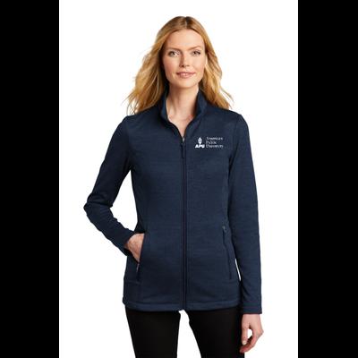 APU - Port Authority  ®  Ladies Collective Striated Fleece Jacket