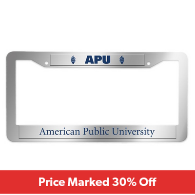 APU - License Plate Frame