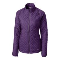 Annika Propel 2 in 1 Quilted Jacket - Black Impulse