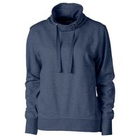 Ladies' Saturday Funnel Sweatshirt - Navy Blue Heather