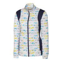 L/S Cove Print Packable Jacket - Multi