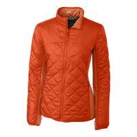 L/S Lt Wt Sandpoint Quilted Jacket - College Orange