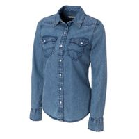 L/S Wild Card Denim Shirt - Denim