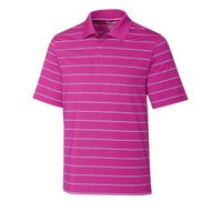 Friday Harbor Stripe Polo - Tannin