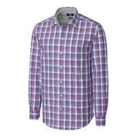 L/S Non-Iron Zachary Plaid - Magnetic