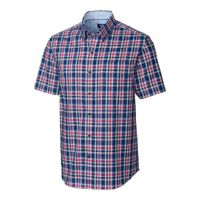 S/S Non-Iron Sebastian Plaid - Nautical