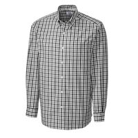 L/S Epic Easy Care Grant Plaid - Black