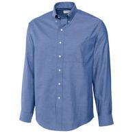 L/S Epic Easy Care Royal Oxford - French Blue