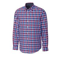 L/S Non-Iron Sawyer Plaid - Tannin