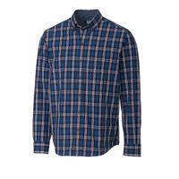 L/S Non-Iron Big Sur Plaid - Tidal