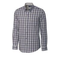 L/S Non-Iron Monte Plaid - Heathered Grey