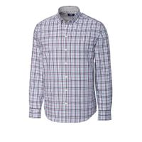 L/S Non-Iron Irving Plaid - Majesty