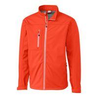 Clique Telemark Softshell Jacket - Blood Orange