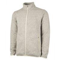 Charles River Men's Heathered Fleece Jacket - Oatmeal Heather
