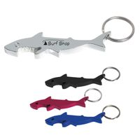 Shark Bottle Opener Key Ring