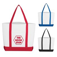 Pocket Shopper Tote Bag (Silk-Screen)