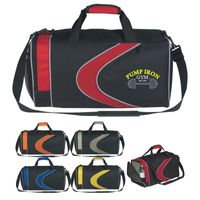 Sports Duffel Bag (Embroidered)