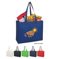 Matte Laminated Non-Woven Shopper Tote Bag (Silk-Screen)