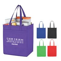 Non-Woven Market Shopper Tote Bag (Silk-Screen)