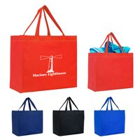 Heat Sealed Non-Woven Grande Tote Bag (Silk-Screen)