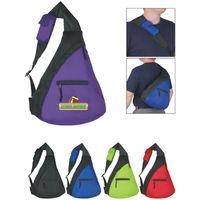 Budget Sling Backpack (Silk-Screen)