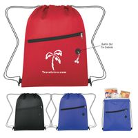 Insulated Drawstring Sports Pack (Silk-Screen)
