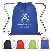 Insulated Drawstring Cooler Bag (Silk-Screen)
