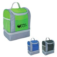 Two-Tone Insulated Lunch Bag (Silk-Screen)