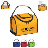 Flip Flap Insulated Lunch Bag (Silk-Screen)