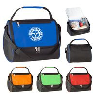 Triangle Insulated Lunch Bag (Silk-Screen)