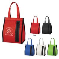 Snack Time Insulated Lunch Bag (Silk-Screen)