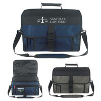 Expandable Deluxe Briefcase (Embroidered)