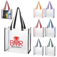 Clear Tote Bag (Silk-Screen)