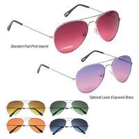 Ocean Gradient Aviator Sunglasses