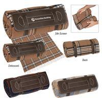 Tartan Roll-Up Blanket (Silk-Screen)