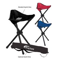 Folding Tripod Stool With Carrying Bag (Transfer)