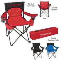Deluxe Padded Folding Chair With Carrying Bag (Transfer)