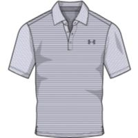 Men's UA Playoff Polo - White