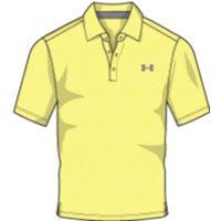 Men's UA Playoff Polo - Yellow Soul