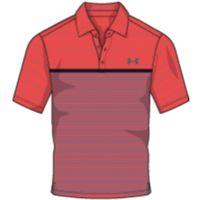 Men's UA Playoff Polo - Neon Coral