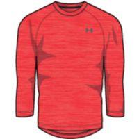 Men's UA Tech  Sleeve TShirt - Neon Coral