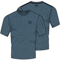 Men's UA Charged Cotton Sportstyle TShirt - Loft Teal Medium Heather