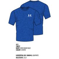 Men's UA Charged Cotton Sportstyle TShirt - Midnight Navy