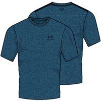 Men's UA Charged Cotton Sportstyle TShirt - Moroccan Blue Medium Heather