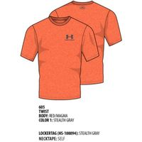 Men's UA Charged Cotton Sportstyle TShirt - Red