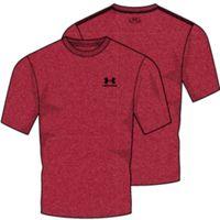 Men's UA Charged Cotton Sportstyle TShirt - Pierce Medium Heather