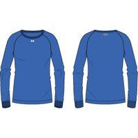 Women's Locker Long Sleeve TShirt - Powderkeg Blue Afs
