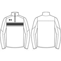 UA Qualifier Novelty 1/4 Zip - White